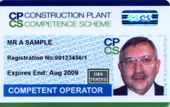 Construction Plant Competent Operator